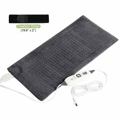 SanaWell Extra Large Electric Heating Pad with Auto Shut Off Moist Heat Therapy