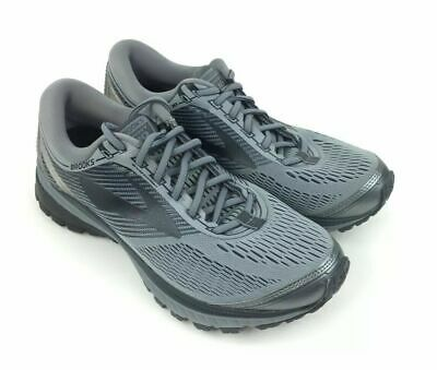 b7c052bb25f06 BROOKS GHOST 10 Mens Size 8.5 D Running Shoes Sneakers Gray Black Neutral