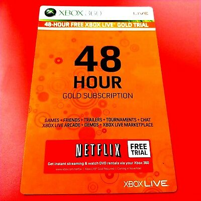 Xbox Live Gold 2 Day Trial 48 Hour Dlc Add-On #14