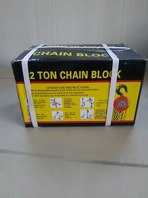 2 Ton Chain Puller Block Fall Chain Hoist Hand Tools Lifting Chain With Hook