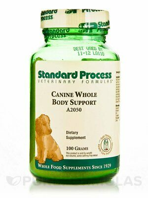 Standard Process A2050 - Canine Whole Body Support 100 Grams EXP: 11/01/2020