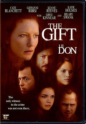 NEW DVD- THE GIFT - Cate Blanchett, Giovanni Ribisi, Hilary Swank, Keanu Reeves,