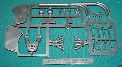 1932 Alfa Romeo Gran Sport Spider Touring Pocher 1/8 Exhaust & Tools Tree.