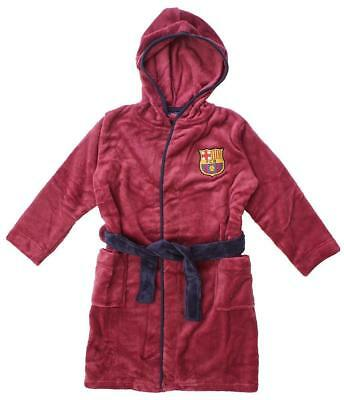 Barcelona kids dressing gown / Childrens bathrobe (boys robe pajamas toddler pjs