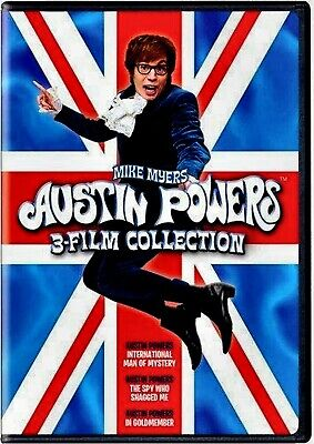 New Dvd - Austin Powers + The Spy Who Shagged Me + Goldmember - Triple Feature