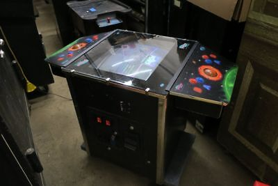 Sharp Galaxy Games Coin Operated Cocktail Table Style Arcade Game
