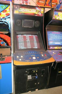 Sharp Silver Strike Bowling 2009 Commercial Coin Operated Arcade Game