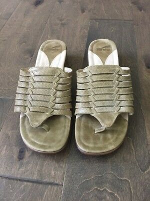Dansko Vanna Gold Nappa Leather Sandal Women/'s sizes 36-41//5-10 NEW!!!