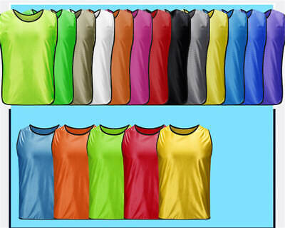 purchase cheap cec33 56db5 TEENS ADULTS PRACTICE Mesh Scrimmage Jerseys Training Sports ...