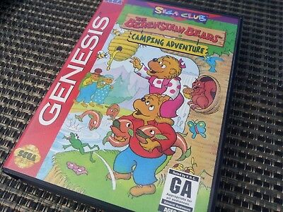 berenstain bears camping adventure