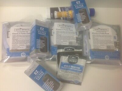 BREW PACK x3 Classic Yeast Carbon Clear, EZ Filters, Cleaner, EZ Washers, Santi
