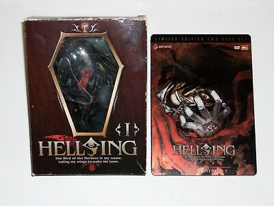 Hellsing Ultimate Series - Limited Edition Two Disc Set & Arucard Figurine