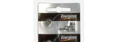 (1) Energizer 364 SR621SW 1.55 Volt Silver Coin Battery CLOSE OUT SPECIAL SALE