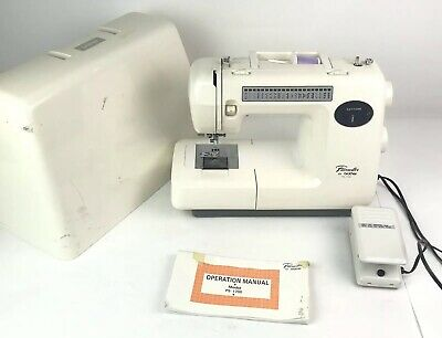 Pacesetter By Brother Model PS 1700 w Sewing Machine Cover Pedal Manual Tested