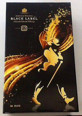 Johnnie Walker Black Label Gift Box with Ice Ball Mould & Tumbler Glass