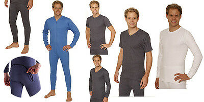 OCTAVE Mens Thermal Underwear, Hand Made British Designed, High Quality Brushed
