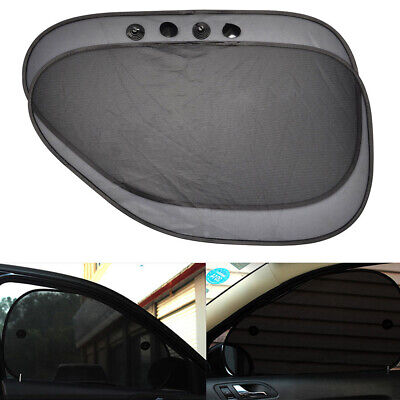 2Pcs Car Side Rear Window Sun Shade Sunshade UV Protection Cover Shield 65*38cm