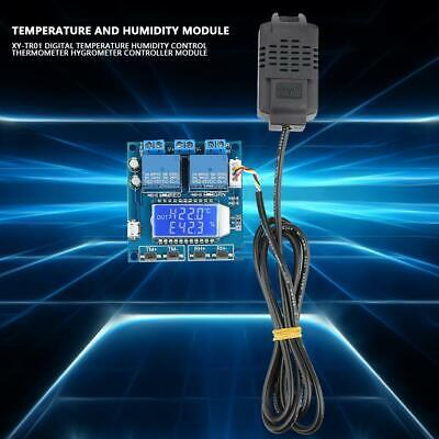 Digital Temperature Humidity Control Thermometer Hygrometer Controller Module