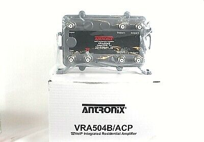 Antronix VRA504B/ACP Voip Integrated Residential Amplifier Cable Coaxial New