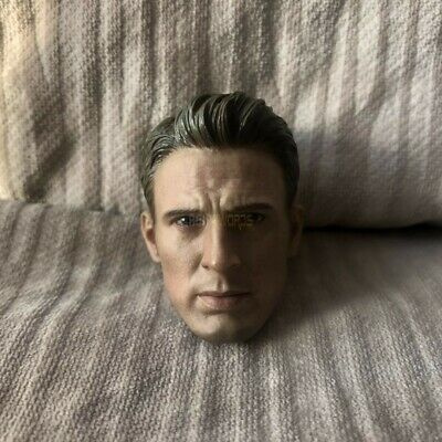 Captain America Chris Evans Head Sculpt 1//6 Comic Fit 12/'/' Action Figure High-Q
