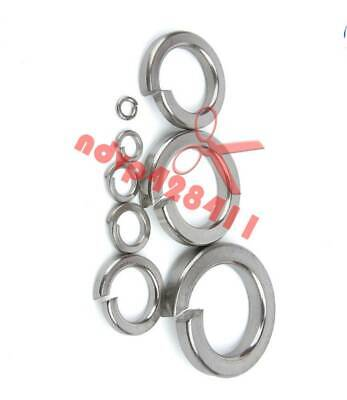 10PCS TITANIUM Spring  WASHERS M4,M5 New