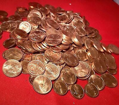 Australian 1 And 2 Cent 450 Grams From Hoard. Bulk. High Grade EF To aUnc.