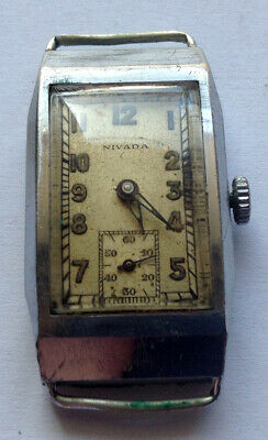 NIVADA  - vintage man's SWISS watch - SWISS MADE - about 1920 - ART DECO