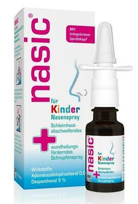 nasic Kinder Nasenspray 10 ml PZN: 1356124