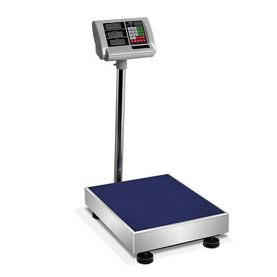 300kg Electronic Digital Platform Scale Computing Shop Postal Scales Weight @AU