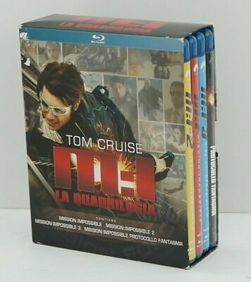 Mission: impossible La quadrilogia Tom Cruise n. 4 Blu-ray in Cofanetto. Paramon