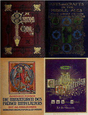 161 Old Books On Illumination Illuminated Manuscript Ancient Medieval Art On Dvd