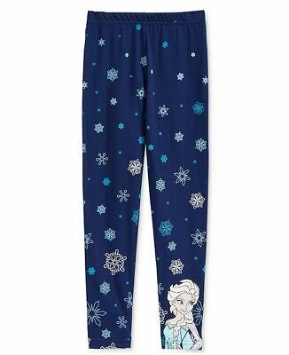 Disney Frozen Elsa  Leggings Jegging  Girls Childrens Trousers 5-6 YRS B652-4