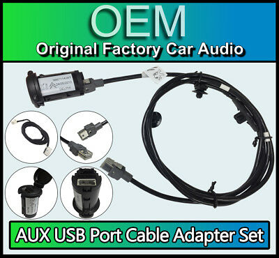 Peugeot 5008 RD45 AUX USB Port Adapter Cable Kit Radio Stereo *FREE AUX CABLE*