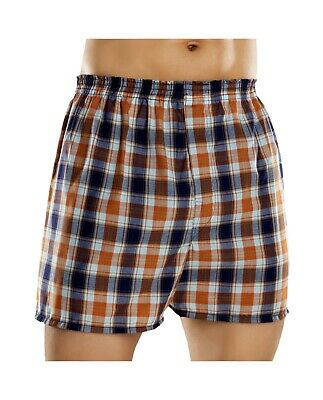 Fruit of the Loom Men's Plaid Woven Boxers Big Sizes (Pack 5) 2x-3x
