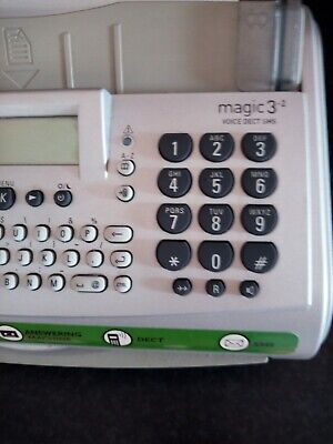 Philips Magic 3 Dect Fax Machine And Cordless Phone, used