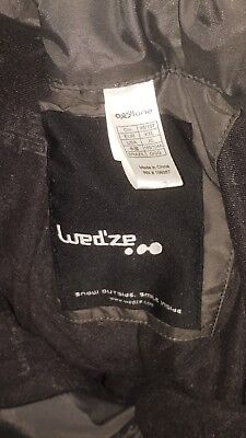 Wed'ze Gray ski pants snow winter liner US XL Adult