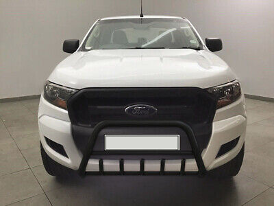 Ford Ranger Stainless Steel Black Axle Nudge A-Bar, Bull Bar Guard 2012-2018