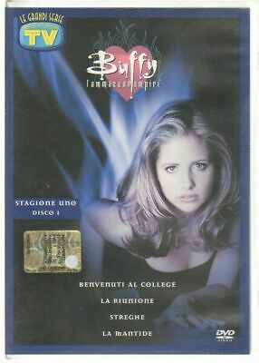 Buffy l'ammazzavampiri Stagione 1 disco 1. DVD Ita. Abbinamento Editoriale
