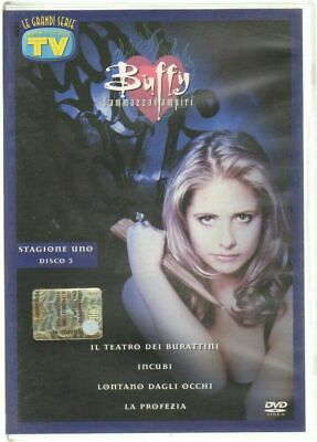 Buffy l'ammazzavampiri Stagione 1 disco 3. DVD Ita. Abbinamento Editoriale