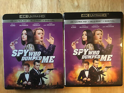 SPY WHO DUMPED ME 4K (UHD + Bluray) No digital.
