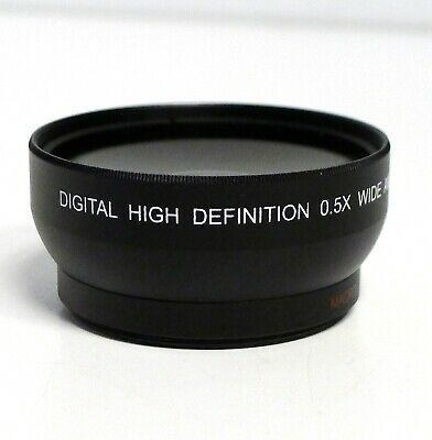 Digital High Definition 0.5x Wide Angle Lens with Macro