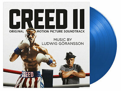 OST LUDWIG GÖRANSSON– CREED II  Soundtrack 180g Blue vinyl Ltd  Numbered  SEALED