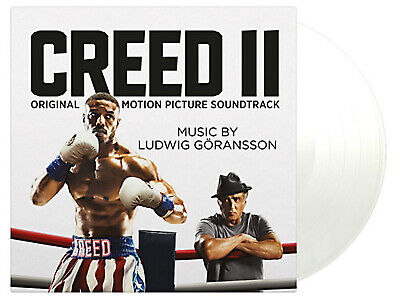 OST LUDWIG GÖRANSSON– CREED II  Soundtrack 180g White vinyl Ltd Numbered  SEALED