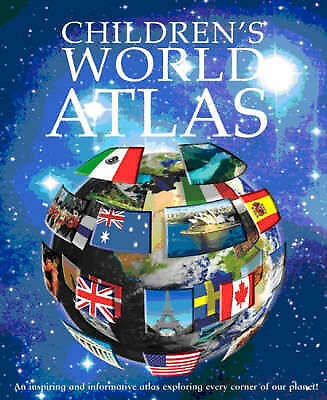, Childrens Illustrated World Atlas (Encyclopedia S.), Hardcover, Very Good Book