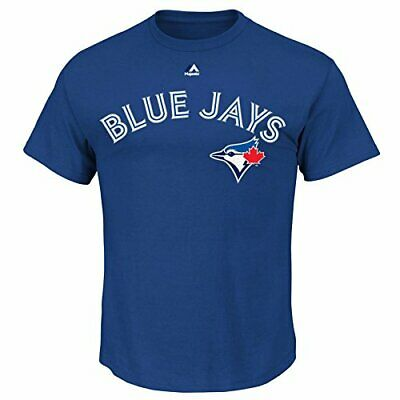 Toronto Blue Jays Troy Tulowitzki Mens MLB Majestic Player Name & Number T-Shirt