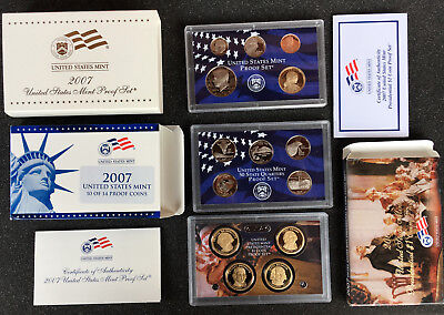 2007 United States Mint Proof Set