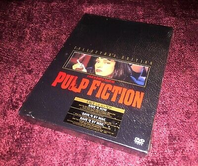PULP FICTION COLLECTORS EDITION 2-Disc DVD 2002 BRAND NEW SEALED Widescreen
