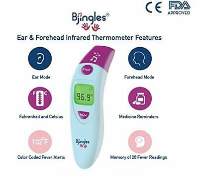 """Digital Ear """" Forehead Infrared Medical Thermometer - FDA & CE Approved"""