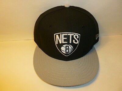 quality design 3c6a3 f66ac Brooklyn Nets New Era NBA 9FIFTY Snapback Baseball Hat Cap (MEN 1-Size)