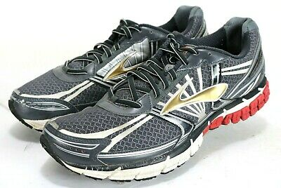 39f32cb7cadea BROOKS BEAST MEN S running shoes white silver size 12 excellent ...